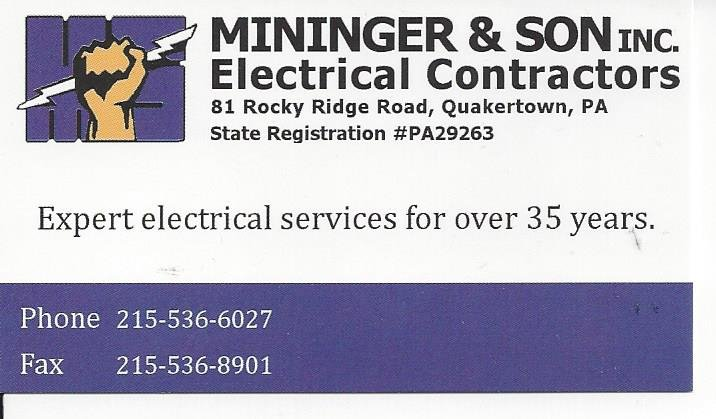 Spring2019Mininger Business Card